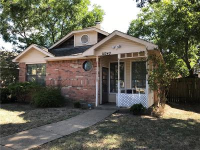 Dallas Single Family Home For Sale: 10340 Woodleaf Drive