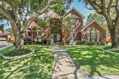 Plano Single Family Home Active Option Contract: 4500 Charlemagne Drive