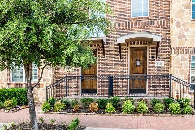 Plano Townhouse For Sale: 7940 Bishop Road