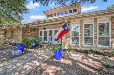 Fort Worth Single Family Home Active Option Contract: 7604 Woodside Hill