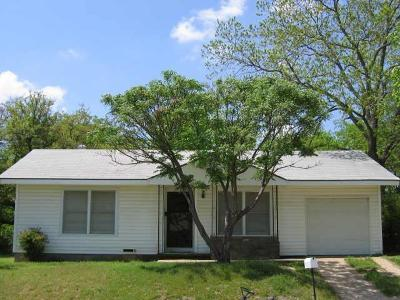 Weatherford Single Family Home For Sale: 1209 Grace Street