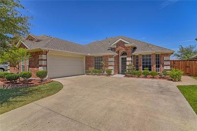Rowlett Single Family Home For Sale: 7802 Glenside Drive