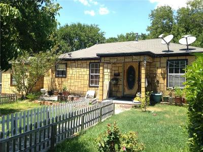 Dallas Single Family Home For Sale: 7535 Red Bud Drive