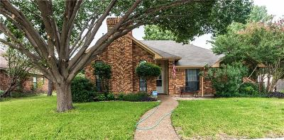 Plano Single Family Home Active Option Contract: 909 Whitney Court