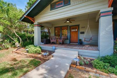 Fort Worth Single Family Home For Sale: 2212 Irwin Street