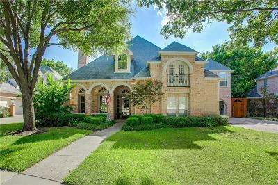 Plano Single Family Home Active Option Contract: 2517 Timber Cove Lane