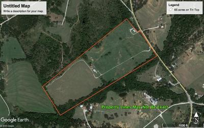 Parker County Residential Lots & Land For Sale: Tba 00 Tin Top Road