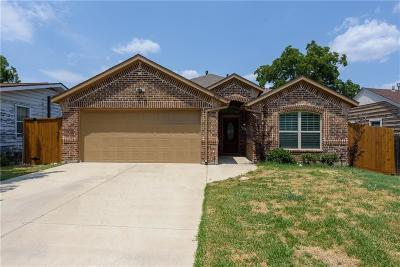 Grand Prairie Single Family Home Active Option Contract: 2106 San Antonio Street