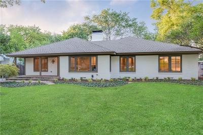 Dallas County Single Family Home For Sale: 5631 Greenbrier Drive