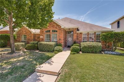 Frisco Single Family Home Active Option Contract: 9805 Presthope Drive