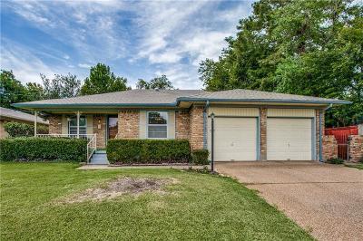 Garland Single Family Home Active Option Contract: 3940 Douglas Drive