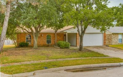 The Colony Single Family Home Active Option Contract: 5508 King Drive
