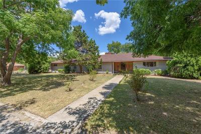 Denton Single Family Home Active Option Contract: 1128 Ector Street
