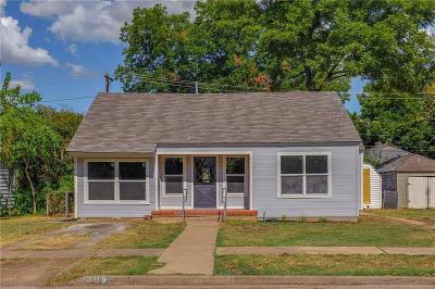 Grand Prairie Single Family Home Active Option Contract: 308 SE 10th Street