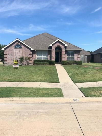 Forney Single Family Home For Sale: 901 Concord Street