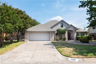 Benbrook Single Family Home Active Option Contract: 1329 Trinity Drive