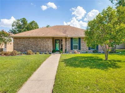 Richardson Single Family Home Active Option Contract: 1502 Hindsdale Drive
