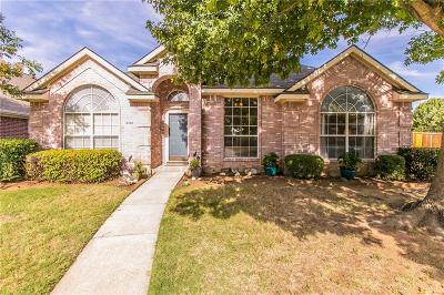 Lewisville Single Family Home Active Option Contract: 1240 Courtney Lane