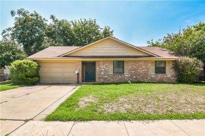 Lewisville Single Family Home Active Option Contract: 1710 Pebble Beach Drive