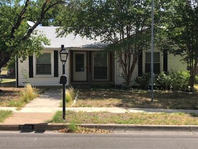 Stephenville TX Single Family Home For Sale: $130,500