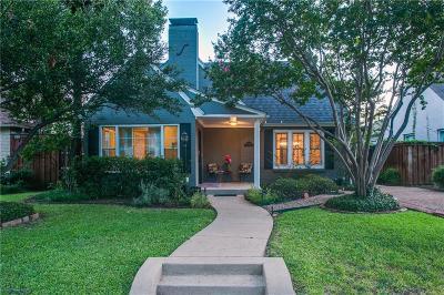Dallas Single Family Home For Sale: 4407 Vandelia
