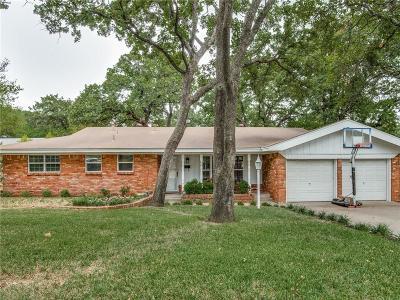 Hurst Single Family Home Active Option Contract: 713 W Cheryl Avenue