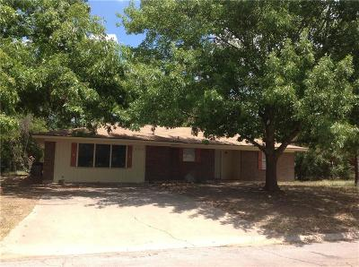Stephenville TX Single Family Home For Sale: $149,000