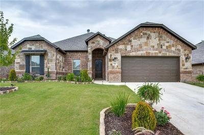 Azle Single Family Home Active Option Contract: 581 Ascot Way