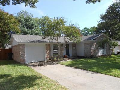Plano Single Family Home Active Option Contract: 3313 Sharon Circle
