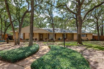 Irving Single Family Home Active Option Contract: 1002 Glencrest Court