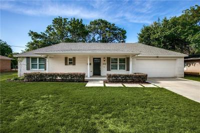 Dallas Single Family Home For Sale: 3930 Highgrove Drive