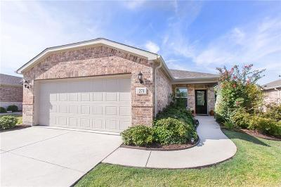 Frisco Single Family Home For Sale: 271 Mariposa Lane