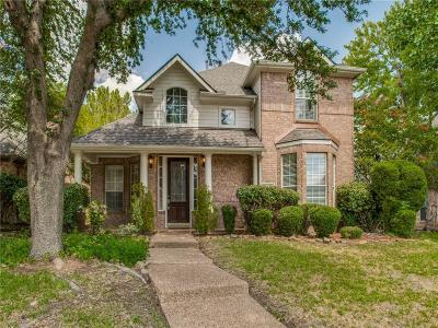 Irving Single Family Home Active Option Contract: 10508 Waters Drive