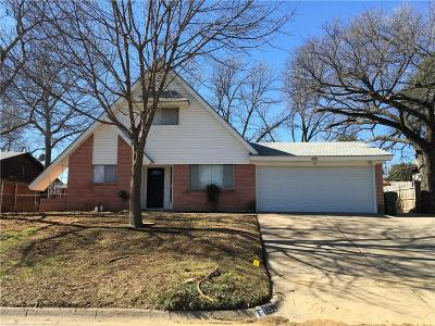 Hurst Residential Lease For Lease: 1133 Norwood Drive