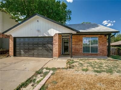 Watauga Single Family Home Active Option Contract: 6517 Westridge Drive