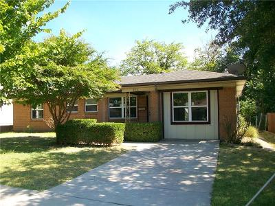 Garland Single Family Home Active Option Contract: 830 E Ridgewood Drive