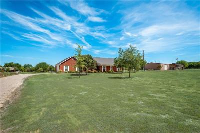 Waxahachie Single Family Home Active Option Contract: 4066 Fm 66 Highway