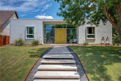 Fort Worth Single Family Home Active Option Contract: 2321 Ryan Avenue