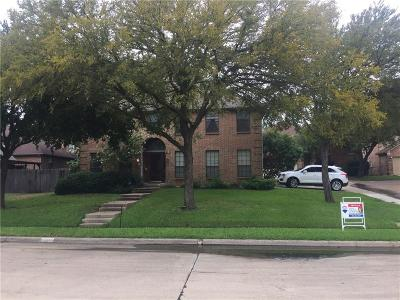 Irving Single Family Home For Sale: 100 Saint Durney Court