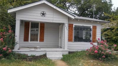 Dallas Single Family Home For Sale: 3825 Latimer Street