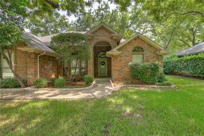 Granbury Single Family Home Active Option Contract: 8919 N Longwood Drive