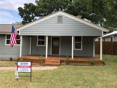Weatherford Single Family Home For Sale: 314 Dubellette Street N