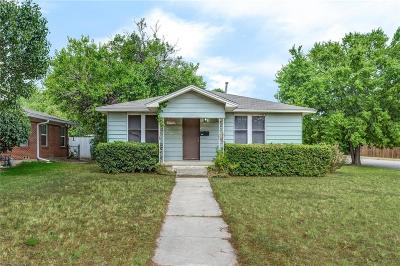 Denton Single Family Home For Sale: 1310 Anna Street