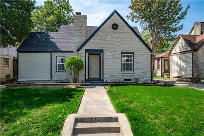 Dallas Single Family Home For Sale: 1026 Galloway Avenue