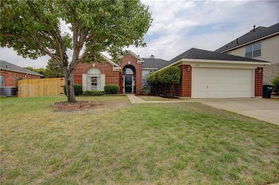 Haltom City Single Family Home Active Option Contract: 5713 Trinity Lane