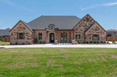 Fort Worth Single Family Home Active Kick Out: 12916 Chisholm Ranch Road