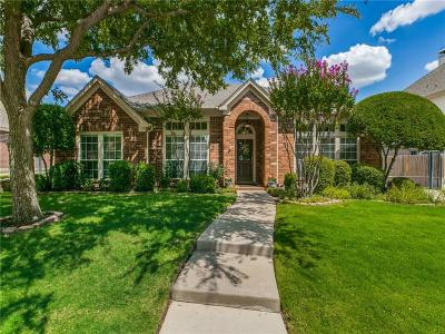 Keller Single Family Home For Sale: 1609 Creekridge Drive