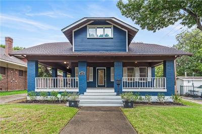 Dallas Single Family Home For Sale: 725 Lowell Street