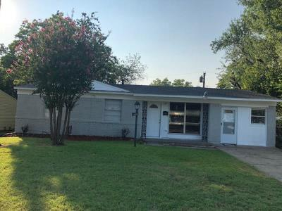 Mesquite Single Family Home For Sale: 3105 Caribbean Drive