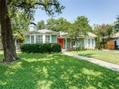Dallas Single Family Home For Sale: 6023 Ellsworth Avenue